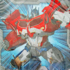 TRANSFORMERS SMALL NAPKINS (16) ~ Birthday Party Supplies Dessert Beverage Cake