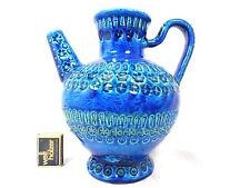 Well shaped Bitossi Design Rimini Blue Pottery watering can giesskanne 24