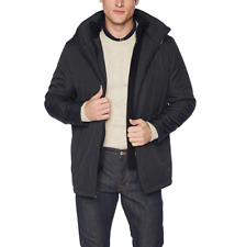 Calvin Klein Mens Hooded Jacket with Inner Fleece Bib Jacket 265$  Size M