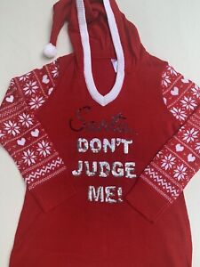 NWT Women's Ugly Hooded Christmas Sweater Size XXL  2XL