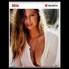 2016 Wurth Swimsuit Calendar (Not Available from Wurth in the U.S.A.)