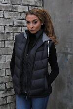 Soulcal & Co Hood Gilet Ladies Sleveless Vest Hooded NAVY BNWT MEDIUM B422-5