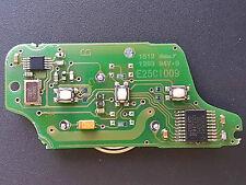 GENUINE PEUGEOT CITROEN REMOTE ALARM KEY FOB CIRCUIT BOARD E25C1009 - 3 BUTTON