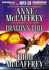 Anne & Todd McCAFFREY  / DRAGON's TIME (Dragonriders of Pern)   [ Audiobook ]