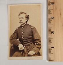 Antique 54th Mass Black Regt Signed Capt Willard Howard Civil War CDV Photograph