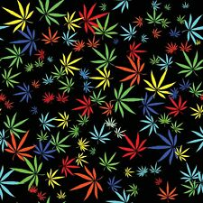 Marijuana Print Home Decor Cotton Fabric 57