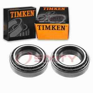 2 pc Timken Front Inner Wheel Bearing and Race Sets for 1990-1994 Aston xd