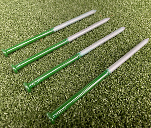 """Artificial Grass Nails Half Green 6""""/150mm 6 in Fixings Ground Peg Pins Staples"""