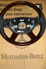 neu Mercedes w216 STEERING WHEEL CL S klasse w221 s600 s500 a2214603003 wood