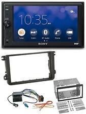 Sony Bluetooth USB DAB 2DIN MP3 Autoradio für VW Sharan ab 10 Tiguan ab 07 Toura