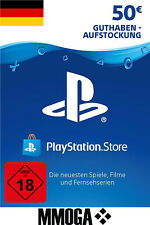50€ PSN Card PlayStation Network Guthaben Code - 50 EURO PS3 PS4 PS5 PS Vita DE