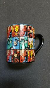 pop marvel collage coffee cup