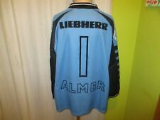 "Grazer AK Fila Torwart Matchworn Trikot 2000/01 ""LIEBHERR"" + Nr.1 Almer Gr.XXL"