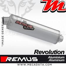 Silencieux Pot échappement Remus Revolution Aluminium BMW R 850 R 2005