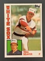 1984 Topps Tiffany Trated #108T Tom Seaver HOF Chicago White Sox