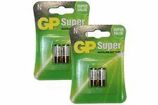 2Pk x2 GP LR1 N Super Alkaline 1.5V Battery 910A MN9100 E90 Bite Security Alarm