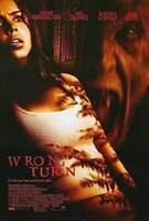 Wrong Turn (Zweiseitig Regulär) Original Filmposter