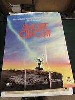 Vintage 1 sheet Movie Poster Short Circuit 1986 Ally Sheedy Steve Guttenberg