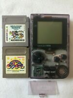 Nintendo GameBoy Pocket Console Kirby PinBall Dragon Quest Monsters Tested Japan