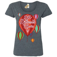 Be different babe T-Shirt individual Womens Ladies Scoop