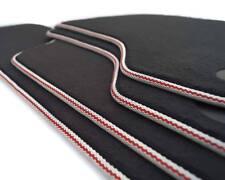 Nouveau Tapis de sol audi a1 8x s1 sporback S-Line Premium Velours Habitacle Rouge