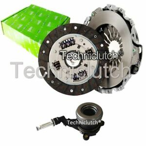 VALEO 2 PART CLUTCH KIT AND CSC FOR OPEL ADAM HATCHBACK 1.2