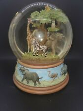 San Francisco Music Co. National Geographic Society African Savannah Snow Globe