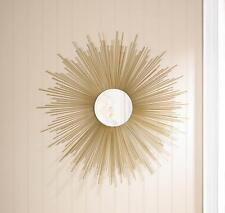 GOLDEN RAYS SUNBURST WALL MIRROR HOME DECOR~10015862