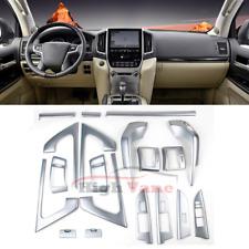 19x Auto Interior Accessories Cover Trim For Toyota Land Cruiser LC200 2008-2015