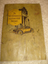 The Westinghouse Automotive Brake Pamphlet - 1929