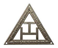 Triple Tau Smaller Nickel-Plated Symbol For Orange Order Collarette