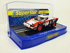 Slot car Scalextric superslot H3931 Lancia Stratos #4 San Remo '78 Alen/Kivimaki
