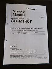 "Service MANUAL PIONEER sd-m1407 ""ORIGINALE"""