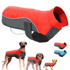 Hundemantel Hundejacke Wintermantel Warm Wasserfest Hundekleidung Rot Blau S-5XL