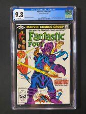 Fantastic Four #243 CGC 9.8 (1982) - Everyone vs Galactus!
