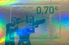 Finland 2007 MNH - Public TV Broadcasting 50 Years - Foil / Hologram Stamp
