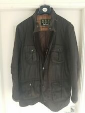 BARBOUR Corbridge Wax Jacket Brown Size XXL
