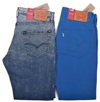 Levis 502 Men's $59.50 Regular Taper Denim Stretch Jeans Choose Color & Size