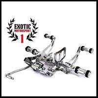 Ducati 848 1098 1198  Billet Rear Subframe Race Hooks Tie Dows