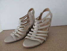 Ladies Riversoft Size 41 Wedge Heel Shoes Strappy Open Toe