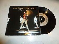 "Freddie MERCURY-vivere sulla mia - 1993 UK 7"" 2-TRACK VINILE SINGOLO"