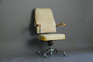 Stahlrohrsessel DRABERT  Bauhaus 40er Schreibtisch Büro-stuhl  50er chair Mauser