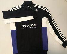 Adidas Originals Apian Pullover DU8381 Size L Blk/Wht/Elcblu Skateboarding