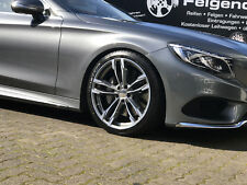 19 Zoll Winterräder Mercedes C43 AMG 225/40+255/35 Alufelgen + RDK Teilegutacht.