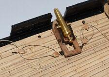 Revell USS Constitution, United States 1:96 - hooks and eyelets for gun's hoist