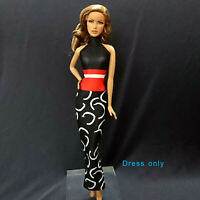 "Handmade~Doll dress for 12""Doll~ Barbie,Fashion Royalty Silkstone #B0017-001049"