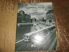 Vintage 1964 CTA Chicago Transit Authority Annual Report Magazine