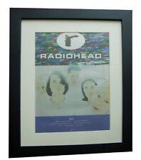 RADIOHEAD+PABLO HONEY+TOUR+POSTER+AD+RARE ORIGINAL 1994+FRAMED+FAST GLOBAL SHIP