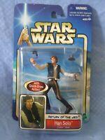 BRAND NEW Star Wars ROTJ Han Solo Endor Raid, figure FACTORY SEALED