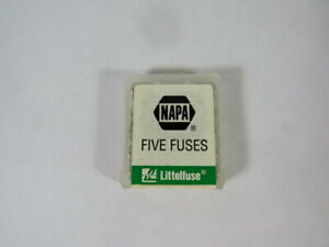 Littelfuse AGC-10 Fast Acting Fuse 10A 250V Lot of 5 ! NEW !